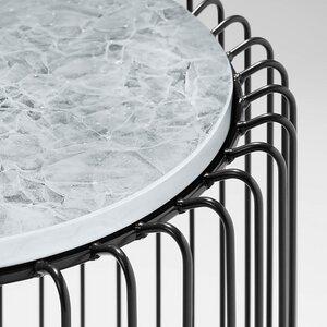 Beistelltisch AMSTERDAM aus recycelten Glasflaschen - MAGNA Glaskeramik®