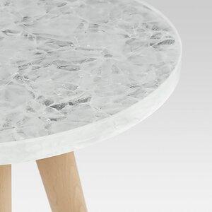 Beistelltisch REYKJAVIK aus recyceltem Glas - MAGNA Glaskeramik®