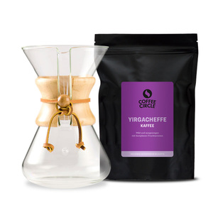 Chemex Set: Coffee Circle Kaffee + Chemex Kaffeebereiter - Coffee Circle