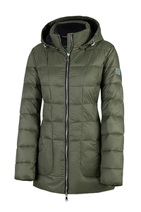 "Vegane Winter Steppjacke mit Kapuze ""Recyceled"" - Green Goose"