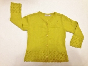 Strick-Jacke Gina akazie - Lana naturalwear