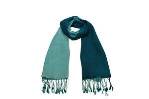 Schal (70% Wolle / 30% Seide) mit farbigem Verlauf - Frida Feeling