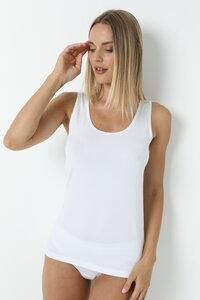 """""""2er Pack"""" GOTS zertifizierte Biobaumwolle Damen Unterhemd Achselträger von Bruno Barella - Bruno Barella Organic"""