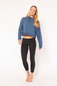 Hoodie Kapuzen Sweatshirt aus biologischer Baumwolle - YOIQI