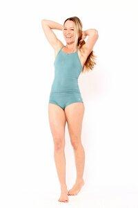 Yoga Body aus biologischer Baumwolle - YOIQI