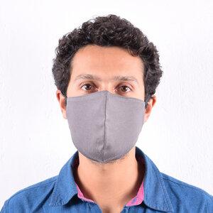 Behelfsmundschutz, Alltagsmaske mit elastischen Schlaufen Fair Trade Bio Baumwolle aus Kenia (wiederverwertbar) - Africulture