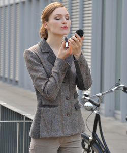 Tweed Blazer racoon - Alma & Lovis