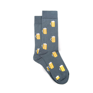 Seidla Socken Blau - bleed