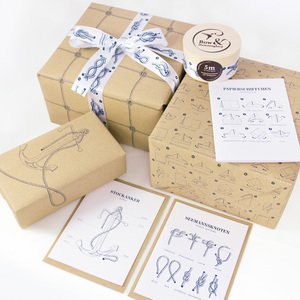 Maritimes Geschenkverpackungs-Set II - Bow & Hummingbird