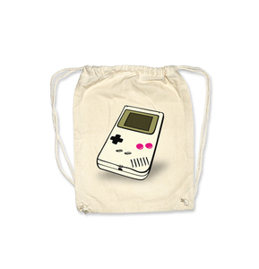 Gameboy ORGANIC Gymbag / Turnbeutel - What about Tee