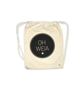 Oh weia ORGANIC Gymbag / Turnbeutel - What about Tee