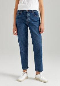 Damen Straight Cropped Jeans Bio Fair - ThokkThokk