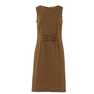 Braunes Kleid, Victoria Sleeveless - People Tree