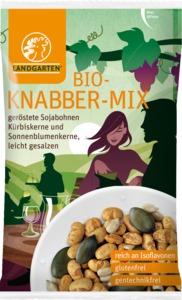 Würziger Bio Knabber Mix 55g - Landgarten