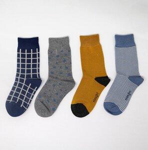4er Set Kinder Socken - River Kids Sock Box - Thought
