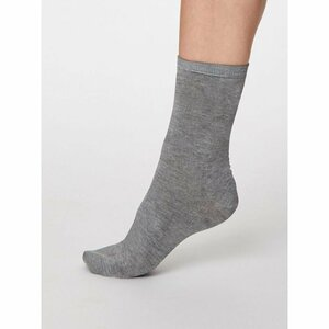 Einfarbige Bambus Socken Solid Jackie - Thought