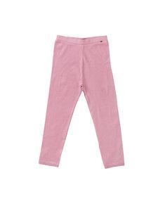 Mädchen Leggings Rippoptik rosa Bio-Baumwolle - People Wear Organic