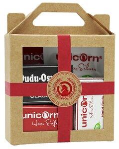 Geschenkset Bio Haarseife, Haarspülung, Dudu Osun Seife & Handpflege - Spa Vivent