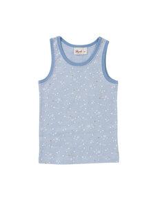 Mädchen Unterhemd Sternschnuppe reine Bio-Baumwolle - People Wear Organic