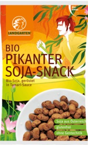 Pikanter Bio-Soja-Snack 50g - Landgarten