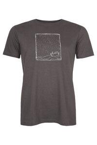Rough Sea Herren T-Shirt _ Dunkelgrau / ILK01 - ilovemixtapes