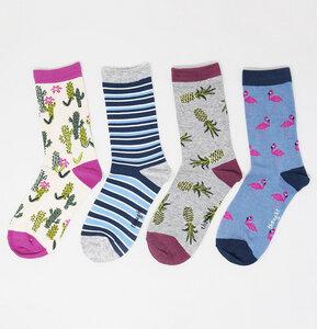 4er Set Socken - Nettie Summer Sock Box - Thought