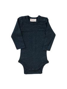 Baby und Kinder Langarm-Body Bio-Wolle/Seide - People Wear Organic