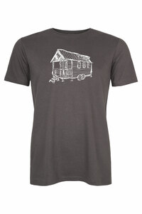 Tiny House Herren T-Shirt _ Dunkelgrau / ILK01 - ilovemixtapes