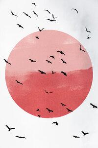 Flying High 2X - Poster von Mareike Böhmer - Photocircle