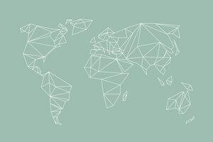 Geometrical World mint - Poster von Studio Na.hili - Photocircle