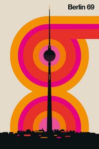 Berlin 69 - Poster von Bo Lundberg - Photocircle