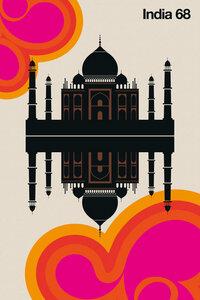 India 68 - Poster von Bo Lundberg - Photocircle