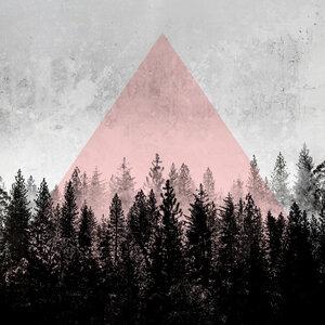 Woods 3X - Poster von Mareike Böhmer - Photocircle
