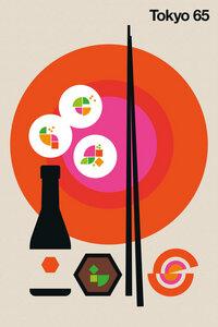 Tokyo 65 - Poster von Bo Lundberg - Photocircle
