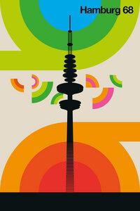 Hamburg 68 - Poster von Bo Lundberg - Photocircle