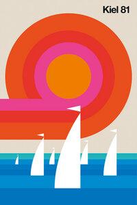 Kiel 81 - Poster von Bo Lundberg - Photocircle