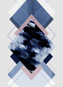Geometric Textures 11 - Poster von Mareike Böhmer - Photocircle
