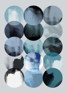 Minimalism 16 X - Poster von Mareike Böhmer - Photocircle