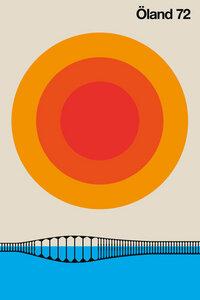 Öland 72 - Poster von Bo Lundberg - Photocircle