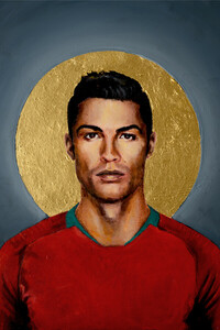 Christiano Ronaldo - Poster von David Diehl - Photocircle