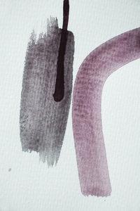 Aquarelle Meets Pencil - Nude and Earth - Poster von Studio Na.hili - Photocircle