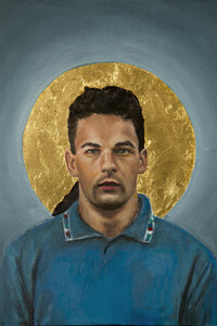 Roberto Baggio - Poster von David Diehl - Photocircle