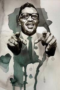 Bo Diddley - Poster von David Diehl - Photocircle