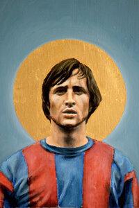 Johan Cruyff - Poster von David Diehl - Photocircle