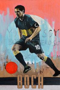 One Love Boca Juniors - Poster von David Diehl - Photocircle