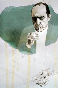 Oscar Niemeyer - Poster von David Diehl - Photocircle