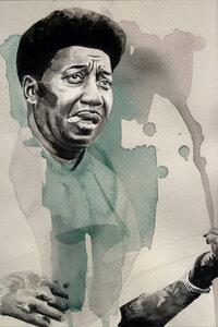 Muddy Waters - Poster von David Diehl - Photocircle