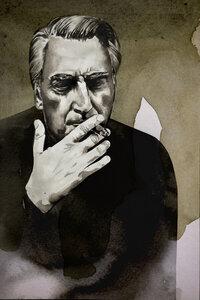 Roland Barthes - Poster von David Diehl - Photocircle