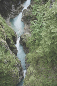 Hiking in the Mountains - Poster von Studio Na.hili - Photocircle