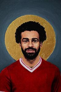 Mohamed Salah - Poster von David Diehl - Photocircle